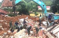 Tập trung cứu nạn, khắc phục hậu quả sạt lở đất ở Quảng Trị, TT-Huế