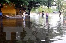 Quảng Nam: Nước lũ dâng cao làm ngập một số đoạn đường ở phố cổ Hội An