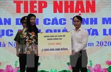 Hà Nội: Tiếp nhận hơn 22 tỷ đồng ủng hộ đồng bào miền Trung