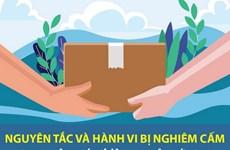Nguyên tắc, hành vi nghiêm cấm trong công tác cứu trợ vùng thiên tai