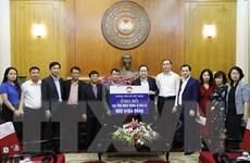 MTTQ tiếp nhận ủng hộ từ Thông tấn xã Việt Nam và các tổ chức