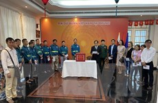 Người Việt tại Brunei, Campuchia quyên góp ủng hộ đồng bào miền Trung