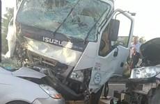 Tai nạn giao thông trên cao tốc Hà Nội-Bắc Giang, 3 người thương vong