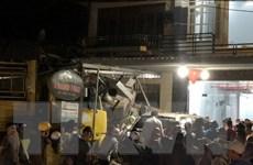 Nổ lốp ôtô tải gây tai nạn liên hoàn làm 6 người thương vong