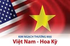 Kim ngạch thương mại Việt Nam-Hoa Kỳ: Điểm sáng trong quan hệ hai nước