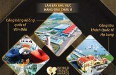 Giải thưởng Du lịch thế giới vinh danh nhiều địa điểm của Quảng Ninh