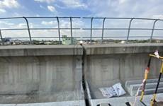 TP.HCM: Cần 1 tháng để tìm nguyên nhân sự cố gối cầu tuyến metro số 1