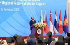 Việt Nam góp vật tư y tế trị giá 5 triệu USD cho kho y tế khẩn cấp