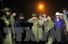 Kiểm tra công tác chuẩn bị ứng phó bão số 13 tại Quảng Bình, Quảng Trị