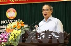 Ông Nguyễn Thiện Nhân dự Ngày hội Đại đoàn kết toàn dân tộc ở Bắc Ninh