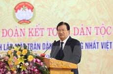 PTT Trịnh Đình Dũng dự Ngày hội Đại đoàn kết toàn dân ở Lập Thạch