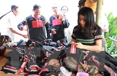 Giới thiệu hình ảnh thân thiện và gần gũi cho thổ cẩm Việt Nam