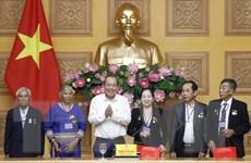 PTT Trương Hòa Bình tiếp đoàn người có công với cách mạng tỉnh Kon Tum