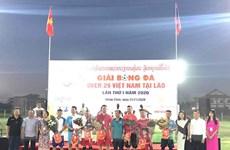 """Khai mạc giải bóng đá """"Over 29 Việt Nam"""" tại Lào lần thứ nhất"""