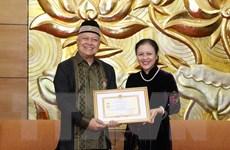Thúc đẩy quan hệ hữu nghị, hợp tác giữa nhân dân Việt Nam-Indonesia