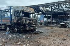 Tiếp nhận điều trị, cách ly 4 người bị thương trong vụ nổ xe ở Lào
