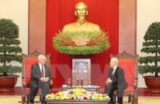 Tổng Bí thư, Chủ tịch nước Nguyễn Phú Trọng tiếp Đại sứ Liên bang Nga