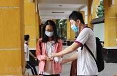 Một số trường ở TP.HCM hoạt động trở lại sau thời gian nghỉ phòng dịch