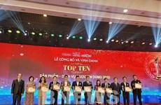 Vinh danh top 100 sản phẩm-dịch vụ Tin dùng Việt Nam 2020