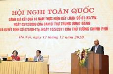 Thủ tướng: Xây dựng lớp nông dân mới nắm chắc về KHCN, kinh tế số