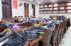 Triệt phá nhóm sử dụng mạng xã hội để buôn bán trái phép vũ khí