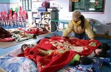 Người dân vùng cao tỉnh Lạng Sơn chủ động phòng chống rét đậm, rét hại