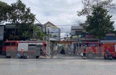 Một vụ hỏa hoạn lớn xảy ra tại Lâm Đồng, thiêu rụi 4 căn nhà