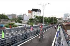 TP.HCM: Chính thức thông xe cầu thép thay thế phà An Phú Đông