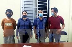 An Giang đưa 4 người nhập cảnh trái phép đi cách ly y tế tập trung