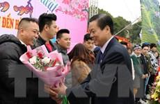 """Hà Giang đón những du khách """"xông đất"""" đầu tiên của năm 2021"""