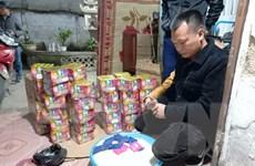 Nghệ An: Bắt giữ hai đối tượng cất giấu pháo nổ và ma túy số lượng lớn