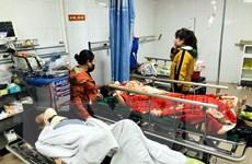 Tích cực chữa trị các nạn nhân vụ tai nạn lao động do thang cuốn