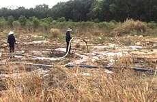 Khu xử lý chất thải của Công ty Cù Lao Xanh gây ô nhiễm môi trường