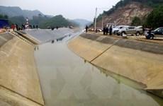 Thông dòng chảy sau sự cố vỡ kênh Bắc sông Chu-Nam sông Mã