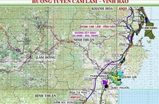 Liên danh đầu tư cao tốc Cam Lâm-Vĩnh Hảo gần 9.000 tỷ đồng