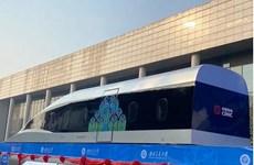"""Trung Quốc """"trình làng"""" tàu hỏa siêu tốc sử dụng công nghệ HTS"""