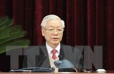 [Photo] Tổng Bí thư, Chủ tịch nước chủ trì Hội nghị TW 15 Khóa XII