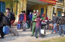 Tiền Giang: 249 công dân về từ Đài Loan hoàn thành cách ly y tế