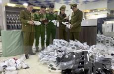 Bắc Giang tạm giữ 1.800 sản phẩm có dấu hiệu giả mạo các nhãn hiệu