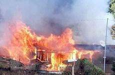 Lâm Đồng: Hỏa hoạn thiêu rụi một căn nhà cùng lượng lớn tiền mặt