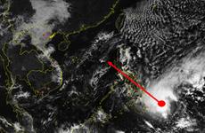 Bão Dujuan khả năng sẽ vào biển Đông trong 3 ngày tới