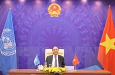 Việt Nam ủng hộ mọi nỗ lực giải quyết thách thức về biến đổi khí hậu