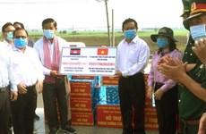 An Giang hỗ trợ người Khmer gốc Việt ở Campuchia phòng, chống dịch