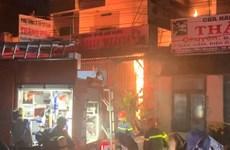 Quảng Ngãi: Kịp thời cứu sống hai cha con trong vụ hỏa hoạn