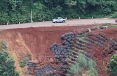Gỡ bỏ lệnh cấm các loại xe qua tuyến đường bị sạt lở Sao Bọng-Đăng Hà