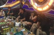 Xử lý vi phạm ở quán karaoke có nhiều khách dương tính với ma túy