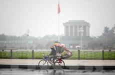 Tây Nguyên và Nam Bộ thời tiết nắng nóng, Bắc Bộ rải rác mưa phùn