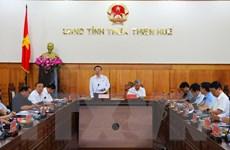 Phó Chủ tịch Quốc hội kiểm tra công tác bầu cử tại tỉnh Thừa Thiên-Huế