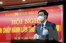 Bí thư Tỉnh ủy Hải Dương được giới thiệu ứng cử Chủ tịch HĐND tỉnh