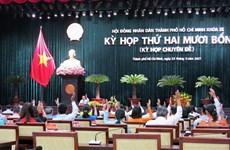 TP.HCM thông qua nhiều nghị quyết quan trọng phát triển kinh tế-xã hội